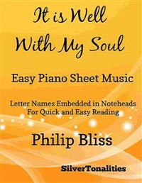 Cover It Is Well With My Soul Easy Piano Sheet Music