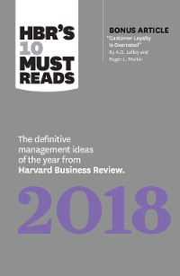 Cover HBR's 10 Must Reads 2018