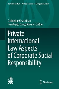 Cover Private International Law Aspects of Corporate Social Responsibility