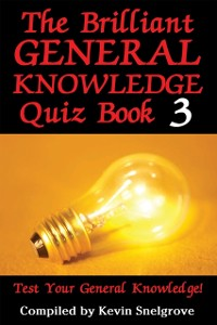 Cover Brilliant General Knowledge Quiz Book 3