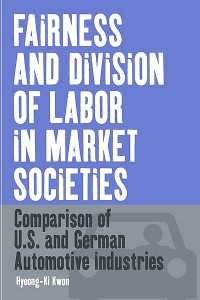 Cover Fairness and Division of Labor in Market Societies
