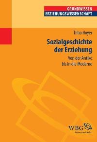 Cover Sozialgeschichte der Erziehung