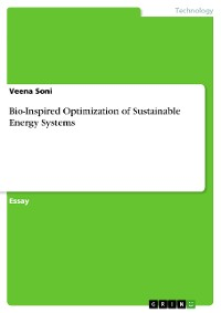 Cover Bio-Inspired Optimization of Sustainable Energy Systems