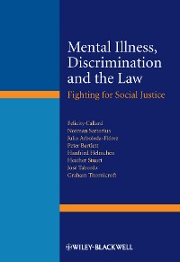 Cover Mental Illness, Discrimination and the Law