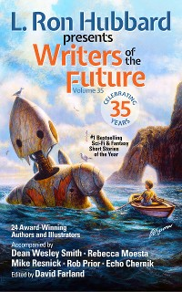 Cover L. Ron Hubbard Presents Writers of the Future Volume 35