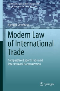 Cover Modern Law of International Trade