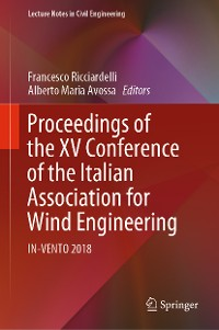 Cover Proceedings of the XV Conference of the Italian Association for Wind Engineering