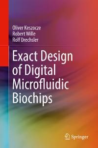 Cover Exact Design of Digital Microfluidic Biochips