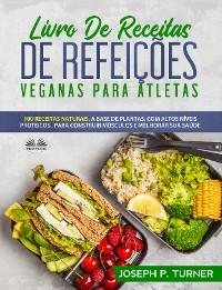Cover Livro De Receitas De Refeições Veganas Para Atletas