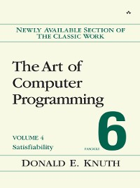 Cover The Art of Computer Programming, Volume 4, Fascicle 6