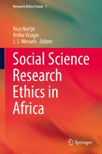 Cover Social Science Research Ethics in Africa