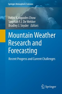 Cover Mountain Weather Research and Forecasting