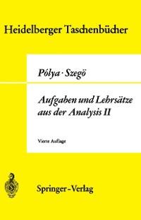 Cover Aufgaben und Lehrsatze aus der Analysis