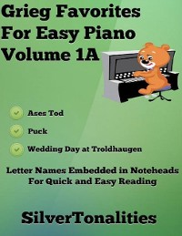 Cover Grieg Favorites for Easy Piano Volume 1 A