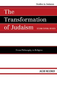 Cover The Transformation of Judaism