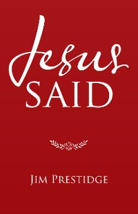 Cover Jesus Said