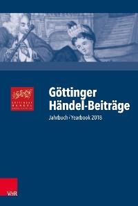 Cover Göttinger Händel-Beiträge, Band 19