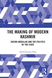 Cover Making of Modern Kashmir