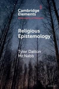 Cover Religious Epistemology