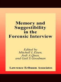 Cover Memory and Suggestibility in the Forensic Interview