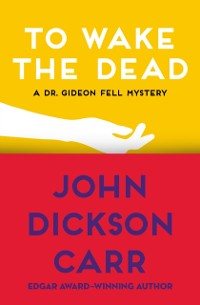 Cover To Wake the Dead