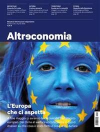 Cover Altreconomia 214 - Aprile 2019