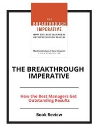 Cover The Breakthrough Imperative