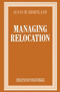 Cover Managing Relocation