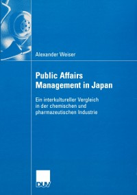 Cover Public Affairs Management in Japan