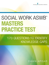 Cover Social Work ASWB Masters Practice Test