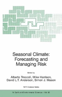 Cover Seasonal Climate: Forecasting and Managing Risk