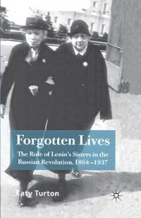 Cover Forgotten Lives