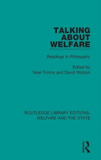 Cover Talking About Welfare