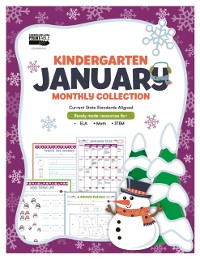 Cover January Monthly Collection, Grade K
