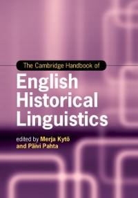 Cover Cambridge Handbook of English Historical Linguistics