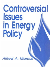 Cover Controversial Issues in Energy Policy