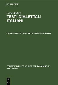 Cover Italia centrale e meridionale