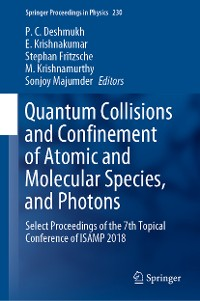 Cover Quantum Collisions and Confinement of Atomic and Molecular Species, and Photons