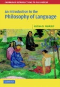 Cover Introduction to the Philosophy of Language