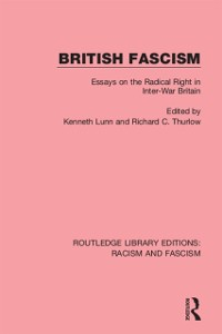 Cover British Fascism
