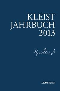 Cover Kleist-Jahrbuch 2013