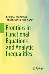 Cover Frontiers in Functional Equations and Analytic Inequalities