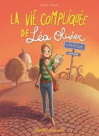 Cover La vie compliquee de Lea Olivier BD tome 1: Perdue