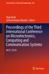 Cover Proceedings of the Third International Conference on Microelectronics, Computing and Communication Systems