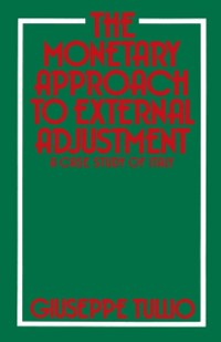 Cover Monetary Approach to External Adjustment