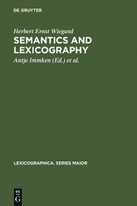 Cover Semantics and Lexicography