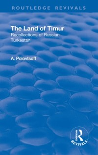 Cover Revival: The Land of Timur (1932)