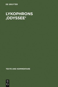 Cover Lykophrons 'Odyssee'