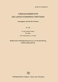 Cover Mechanische Waschebeanspruchung und Waschwirkung in Ruhrwerkmaschinen