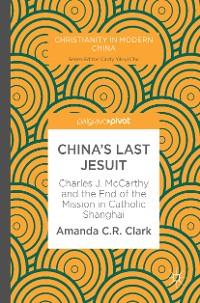 Cover China's Last Jesuit